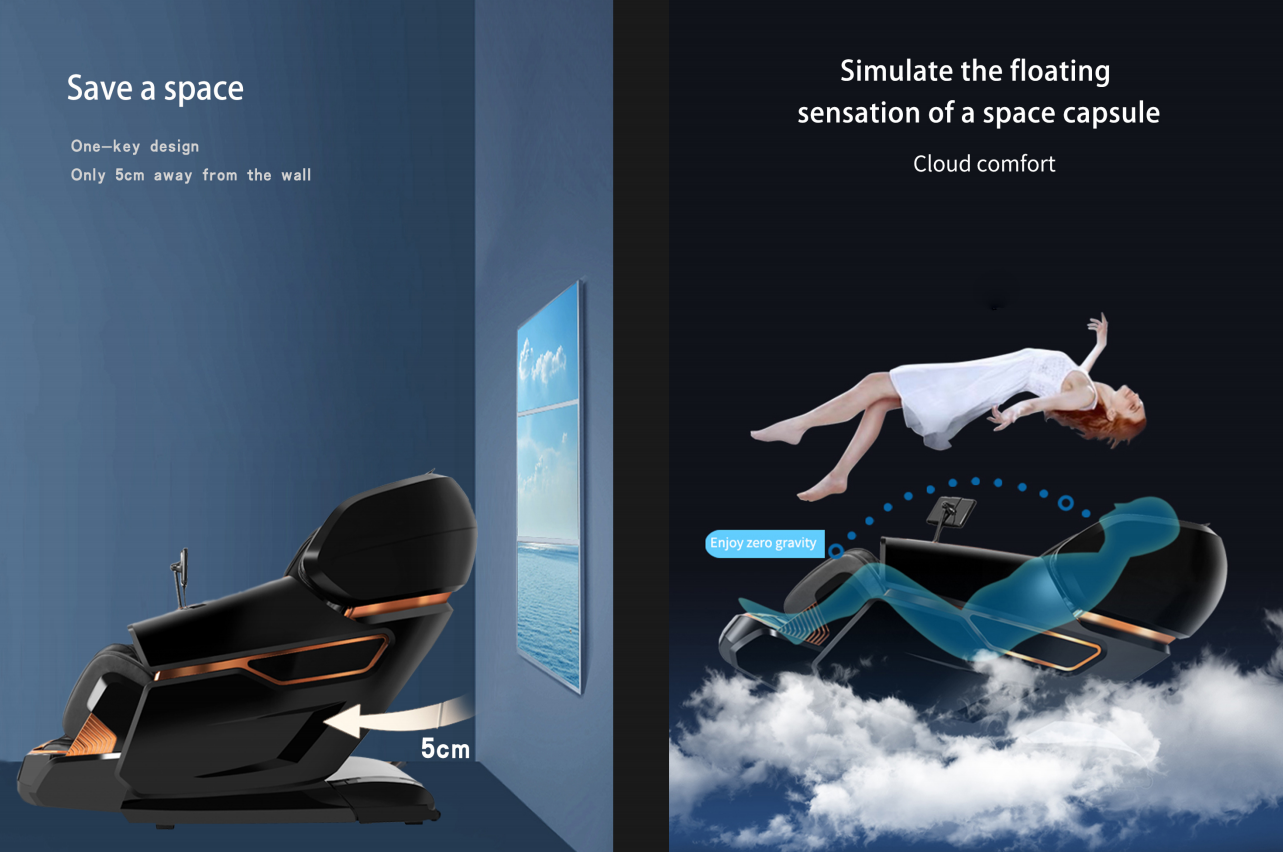 2020 best massage chair zero gravity and save space