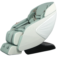 2021 Zero Gravity Full Body Shiatsu SL Track Massage Chair with Space Saving And Auto Body Detection, Bluetooth Speaker